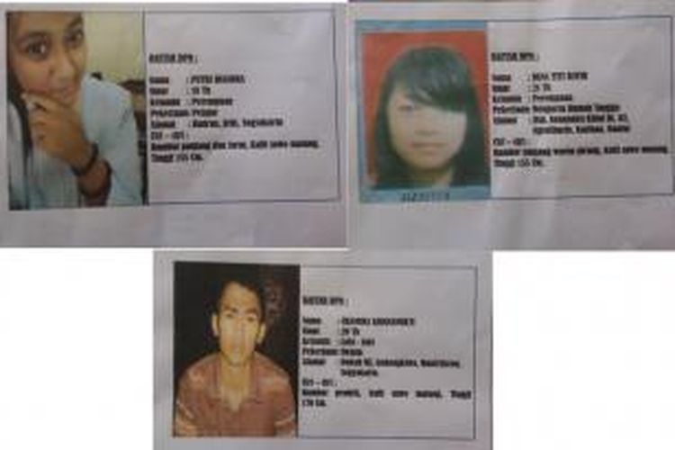 Tiga buron kasus penyiksaan terhadap siswi SMA gara-gara tato Hello Kitty.