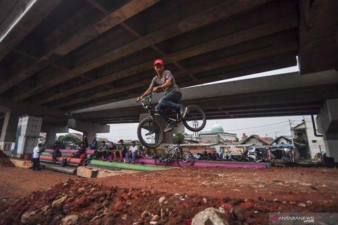 Pilar Jati Bike Park: Dari Tempat Tidur Pemulung Disulap Jadi Lintasan Sepeda