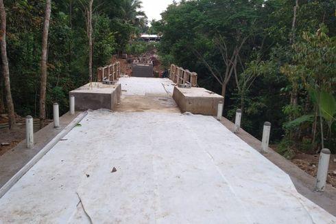 Hanya Seminggu, 4 Jembatan Penghubung Baduy Dalam dan Luar Tuntas Dikerjakan
