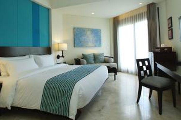 Salah satu kamar di Holiday Inn Resort Bali Benoa.