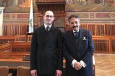 Pamit, Dubes August Parengkuan Temui Dwi Kepala Negara San Marino