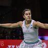 BWF World Tour - Carolina Marin Anggap Kekalahan dari Bocah 18 Tahun sebagai Latihan
