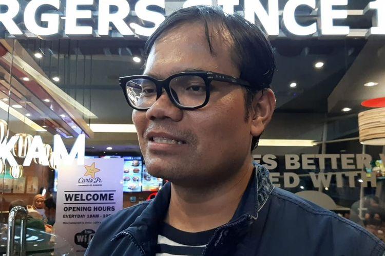 Soleh Solihun saat ditemui di Balai Sarbini, Semanggi, Jakarta Selatan, Jumat (19/7/2019).