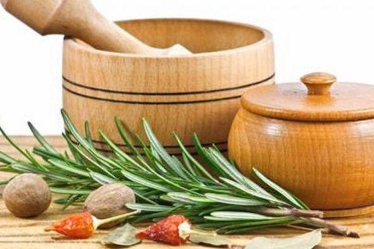 Ilustrasi bahan herbal