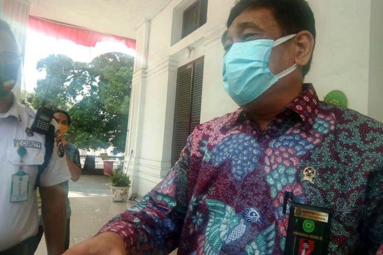 Wakil Ketua PN Medan Abdul Azis mengatakan, pihaknya akan melakukan uji swab kembali bekerja sama dengan Gugus Tugas Percepatan Penanganan Covid-19 Kota Medan dan Dinas Kesehatan Kota Medan untuk memutus mata rantai penyebaran virus, Jumat (4/9/2020)