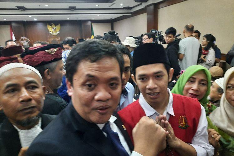 Anggota DPR Habiburokhman saat hadiri sidang vonis Lutfi Alfiandi di Pengadilan Jakarta Pusat, Kamis (30/1/2020)