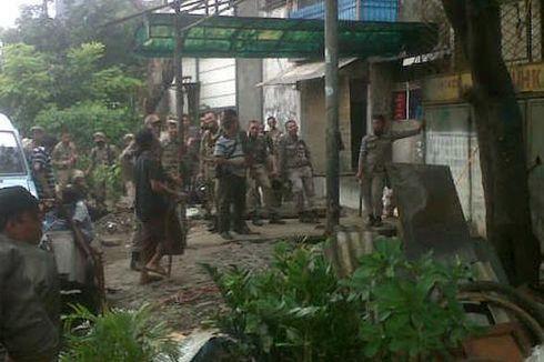 70 Bangunan Liar di Pademangan Dibongkar