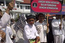 Ramadhan, Barisan Santri Malang Demo Penutupan Tempat Maksiat