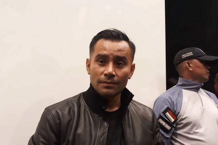 Penyanyi Judika saat ditemui di kawasan Kebon Jeruk, Jakarta Barat, Selasa (25/2/2020) dini hari.