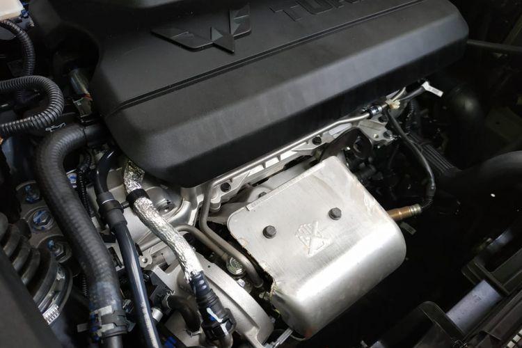 Wuling Almaz dilengkapi dengan mesin 1.5L turbo yang memiliki tenaga 140 tk