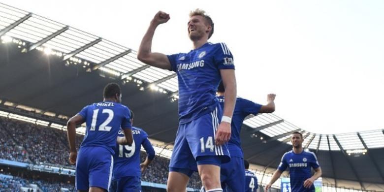 Gelandang Chelsea asal Jerman, Andre Schuerrle.