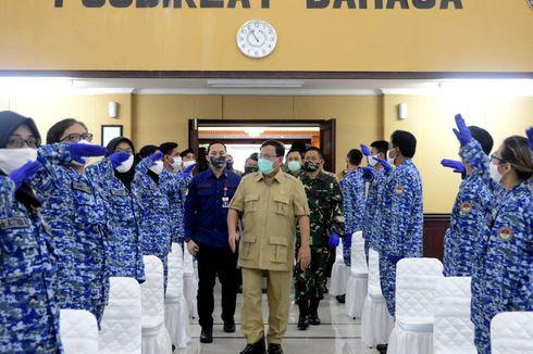 Tanggulangi Covid-19, Prabowo Bentuk Komponen Pertahanan Negara Bidang Kesehatan