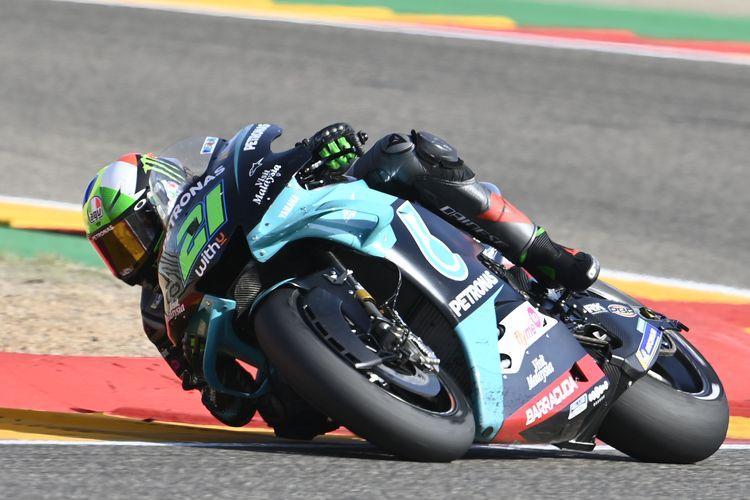Franco Morbidelli, Aragon MotoGP race. 18 October 2020
