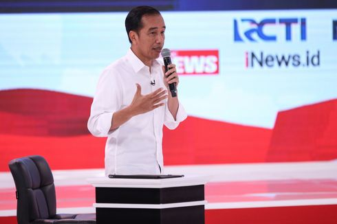 TKN Bantah Jokowi Gunakan Alat Bantu Komunikasi Saat Debat Kedua