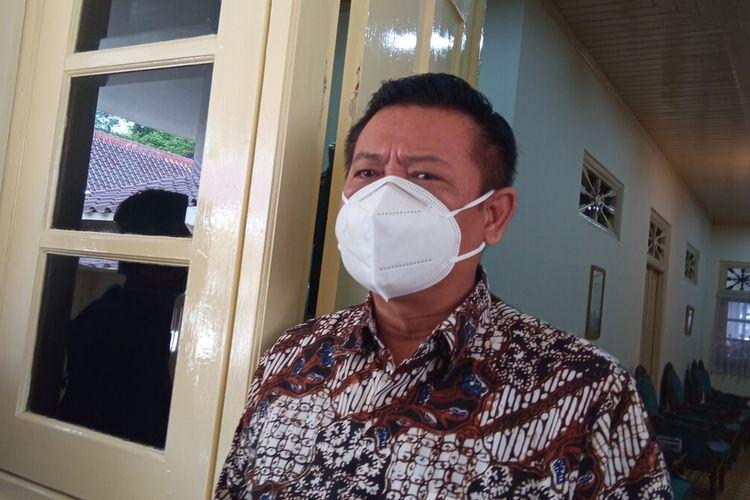sekda DI Yogyakarta Kadarmanta Baskara Aji saat ditemui di Kepatihan, Senin (19/7/2021)