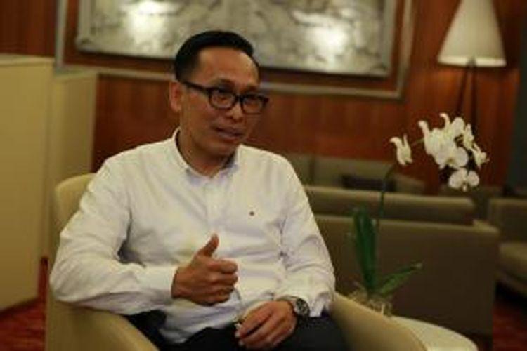 Direktur Utama Garuda Indonesia Arif Wibowo