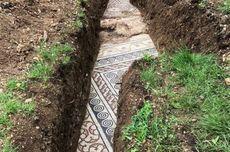 Lantai Mosaik Romawi Kuno Ditemukan di Perkebunan Anggur Italia