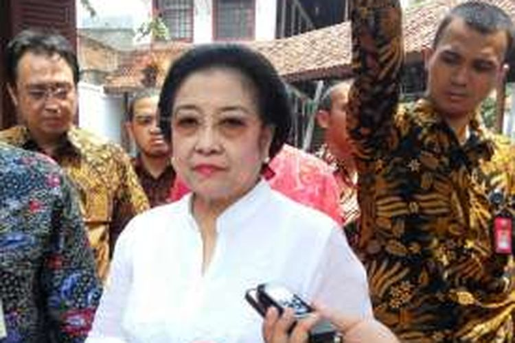 Presiden RI kelima Megawati Soekarnoputri