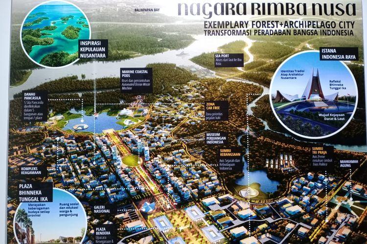 Pemenang pertama sayembara gagasan desain kawasan Ibu Kota Negara Baru dengan judul Nagara Rimba Nusa