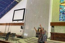 Plafon Gereja Ambruk, Dua Jemaah Terluka di Jakbar