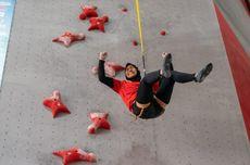 Pecahkan Rekor Dunia, Aries Susanti Raih Emas Piala Dunia Panjat Tebing