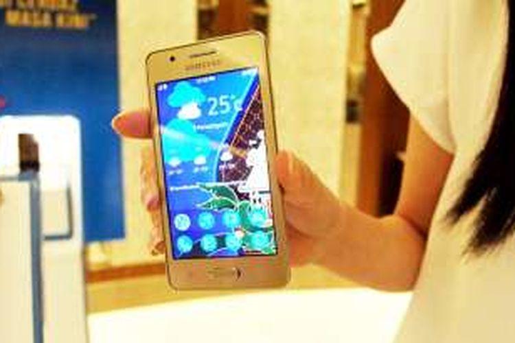 Tampak depan Samsung Tizen Z2