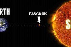 Musim Panas Datang, Suhu di Bangkok Capai 43 Derajat Celcius