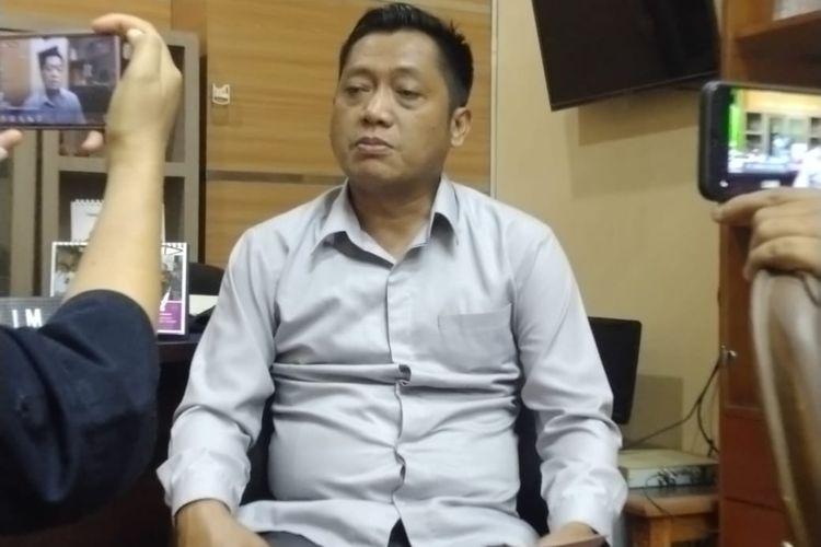 Wakil ketua DPRD Jember Ahmad Halim di ruangannya
