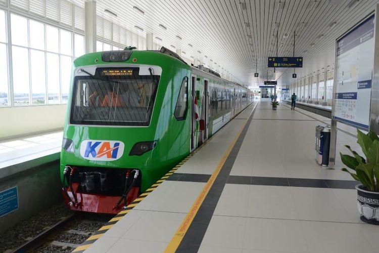 Kereta Api (KA) Bandara Yogyakarta International Airport (YIA)