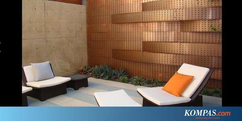 Ragam Inspirasi Dinding Rumah Yang Inovatif Halaman All Kompas Com