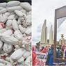 Protes Penanganan Pandemi PM Thailand, Warga Bawa Replika Mayat dan Alat Pancung