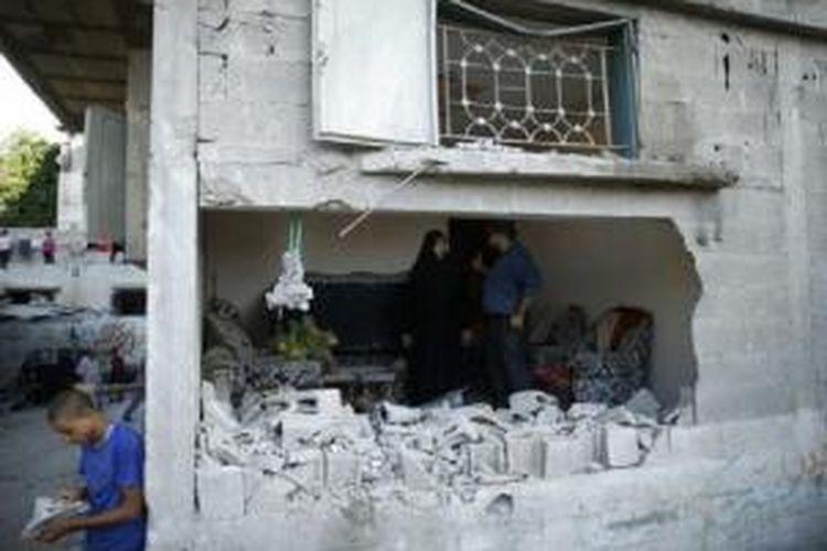 Rekonstruksi Gaza diproyeksikan menelan dana 6 miliar dollar AS