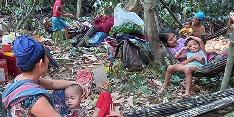 Krisis Myanmar Semakin Parah, Jutaan Orang Terancam Kelaparan