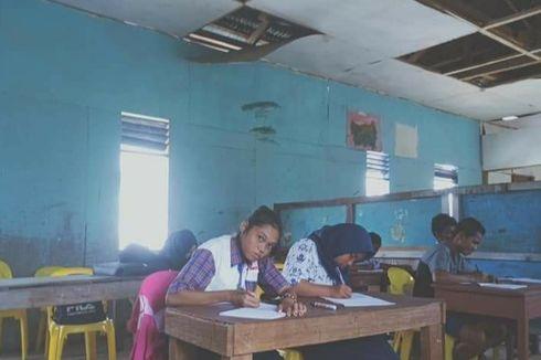 Keikhlasan Elin, Guru di Perbatasan, Honor Rp 250 Ribu per Bulan Tak Dibayar 2 Tahun