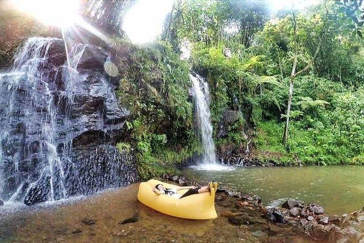 Tempat wisata bernama Curug Cihurang di Kabupaten Bogor (Instagram @curugcihurangbogor).