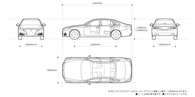 Mobil menteri Toyota Crown 2.5 HV G-Executive