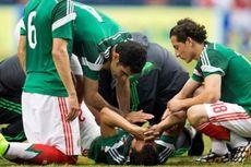 Retak Tulang Kaki, Andalan Meksiko Kubur Impian ke Piala Dunia