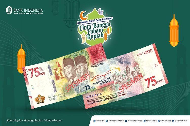 Uang Peringatan Kemerdekaan 75 Tahun RI