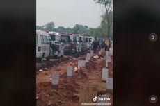 Video Viral Antrean Mobil Jenazah Pasien Covid-19 di TPU Padurenan Bekasi, Ini Faktanya