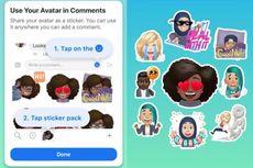 Facebook Bikin Avatar Mirip Bitmoji