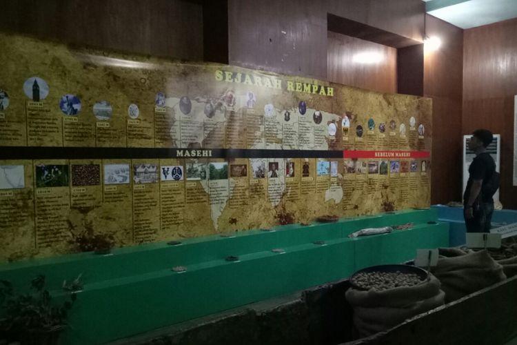 Sejarah-sejarah rempah Indonesia di Museum Nasional Sejarah Alam Indonesia (Munasein)