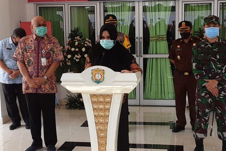 Bupati Kendal Jawa Tengah, Mirna Anissa. KOMPAS.COM/SLAMET PRIYATIN