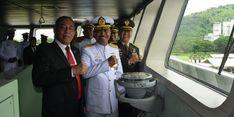 KRI Teluk Lada-521 Tambah Kekuatan Alutsista TNI AL