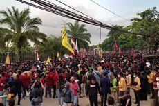 Demonstran Duduki DPRD Kaltim, Enggan Bubar Sebelum Tuntutan Diterima