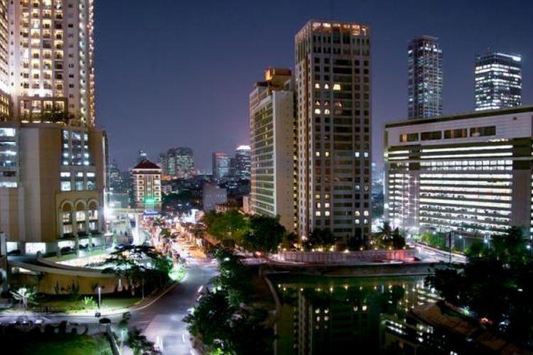 Kawasan Gelora Bung Karno, Senayan, Jakarta Pusat.