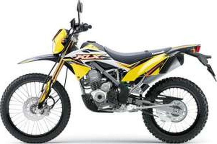 Kawasaki Klx 150 Dengan Grafis Dan Warna Spesial
