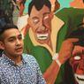 Tertawa Belum Tentu Lucu, Naufal Menjermahkannya ke Lukisan Inovatif