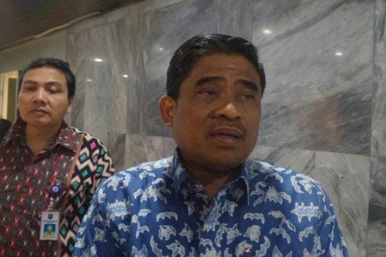 Direktur Jenderal Otonomi Daerab Kementerian Dalam Negeri, Sumarsono di Kompleks Parlemen, Senayan, Jakarta, Kamis (2/2/2017).