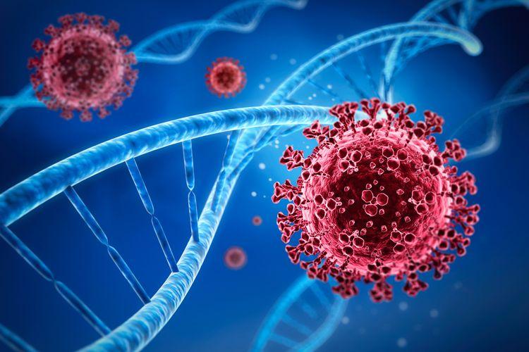 Ilustrasi situasi pandemi dengan kasus Covid-19 yang tidak terkendali bisa menyebabkan mutasi virus dan melahirkan varian baru virus corona seperti yang terjadi di Inggris dan Afrika Selatan.