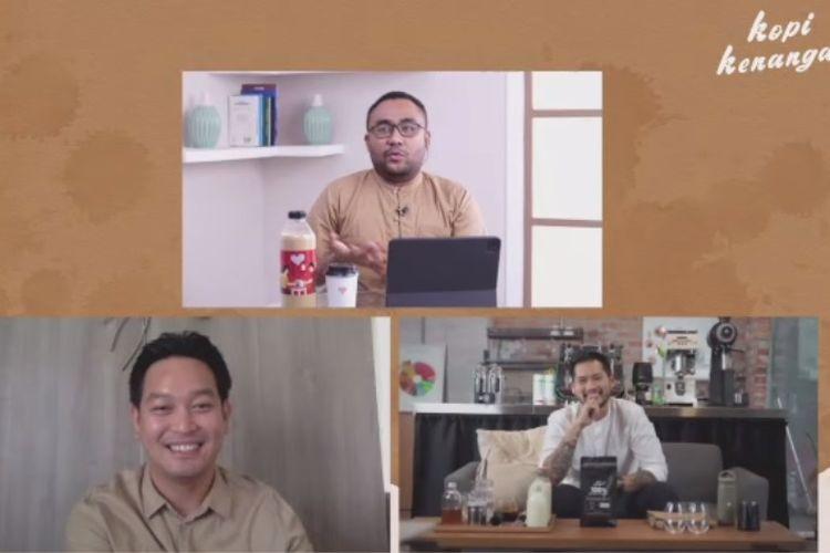 Acara virtual Coffee Class oleh Kopi Kenangan (21/4/2021).
